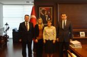 Aile ve Sosyal Politikalar Bakanlığı Bakan Yardımcısı Ziyareti