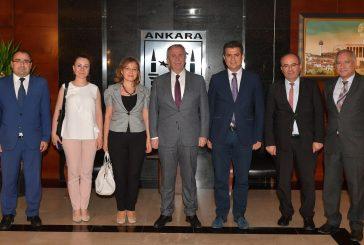 Ankara Büyükşehir Belediye Başkanı Mansur Yavaşı Ziyaret